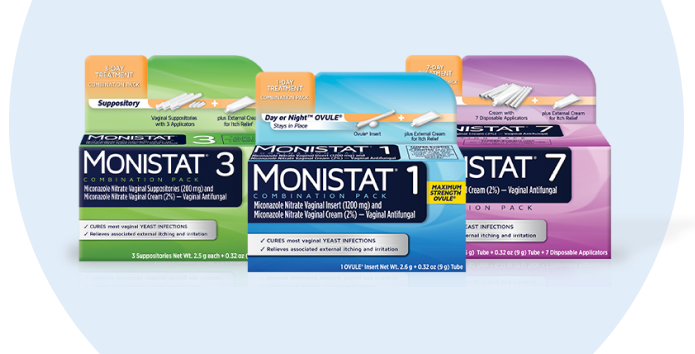 Monistat products